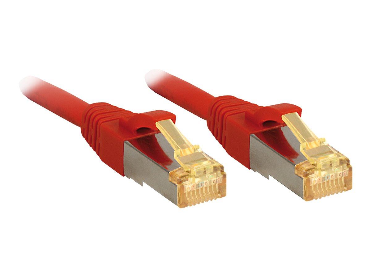Lindy - Patch-Kabel - RJ-45 (M) bis RJ-45 (M) - 30 m - SFTP, PiMF - CAT 7 (Kabel) / CAT 6a (Anschlüsse)