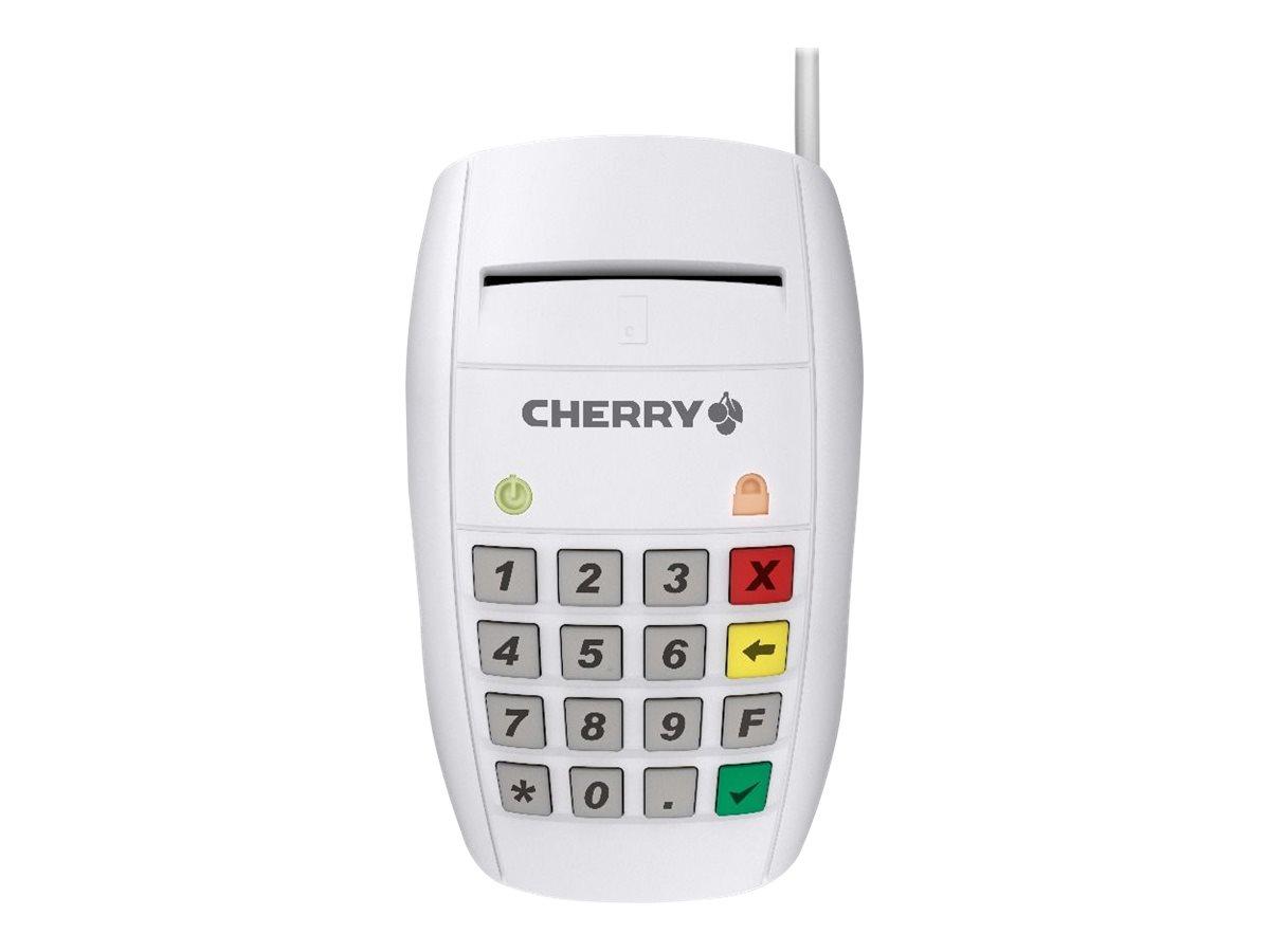 CHERRY SmartTerminal ST-2100 - SmartCard-Leser - USB - weiss