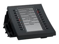 snom D3 - Funktionstasten-Erweiterungsmodul für Telefon - für snom D315, D345, D375