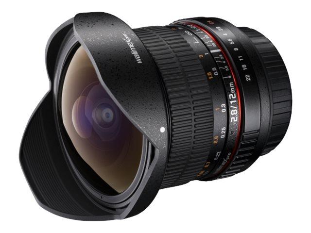 Walimex Pro - Fischaugenobjektiv - 12 mm - f/2.8 - Nikon F