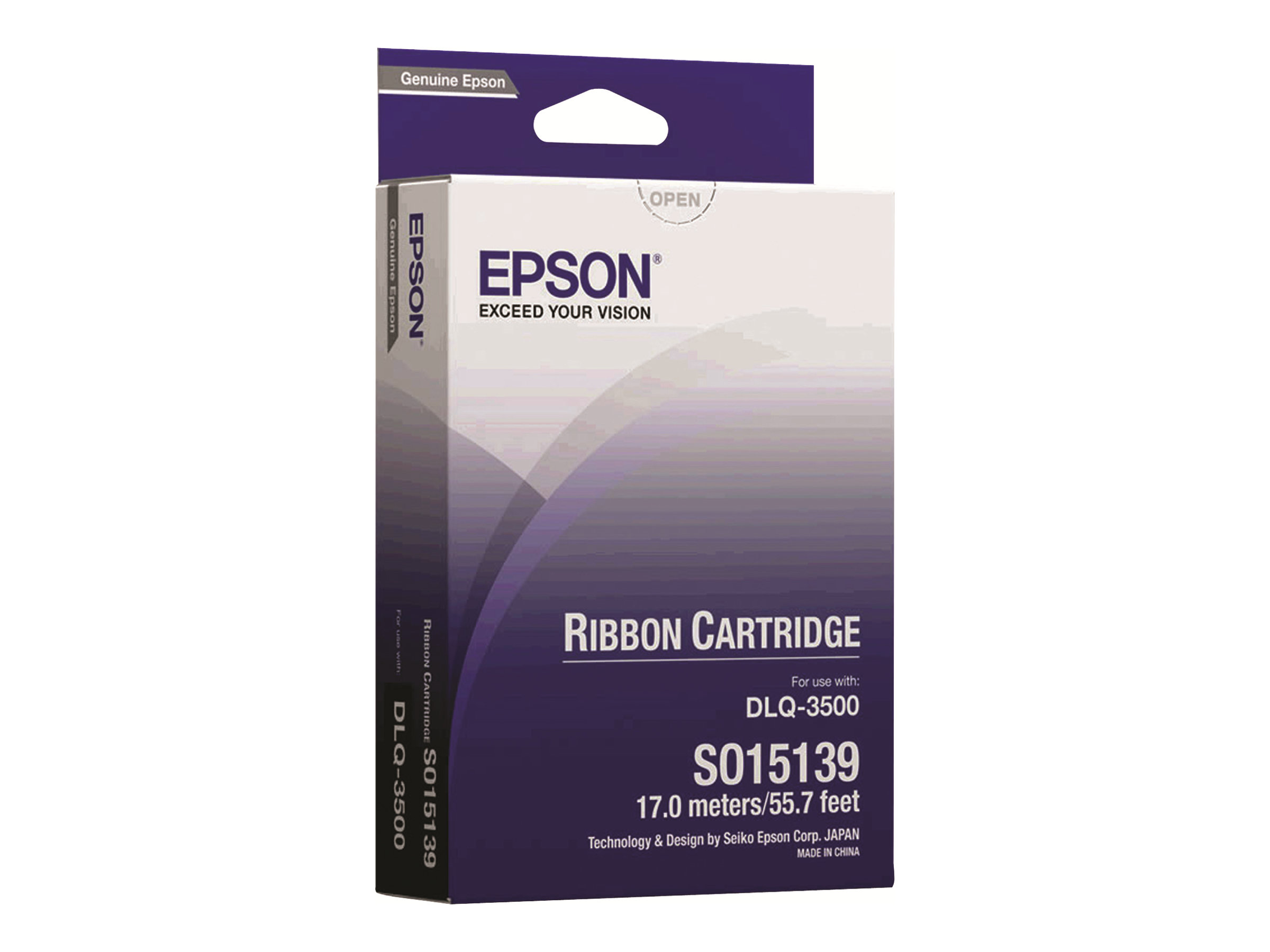 Epson - 1 - Schwarz - Farbband - für DLQ 3000, 3000+, 3500