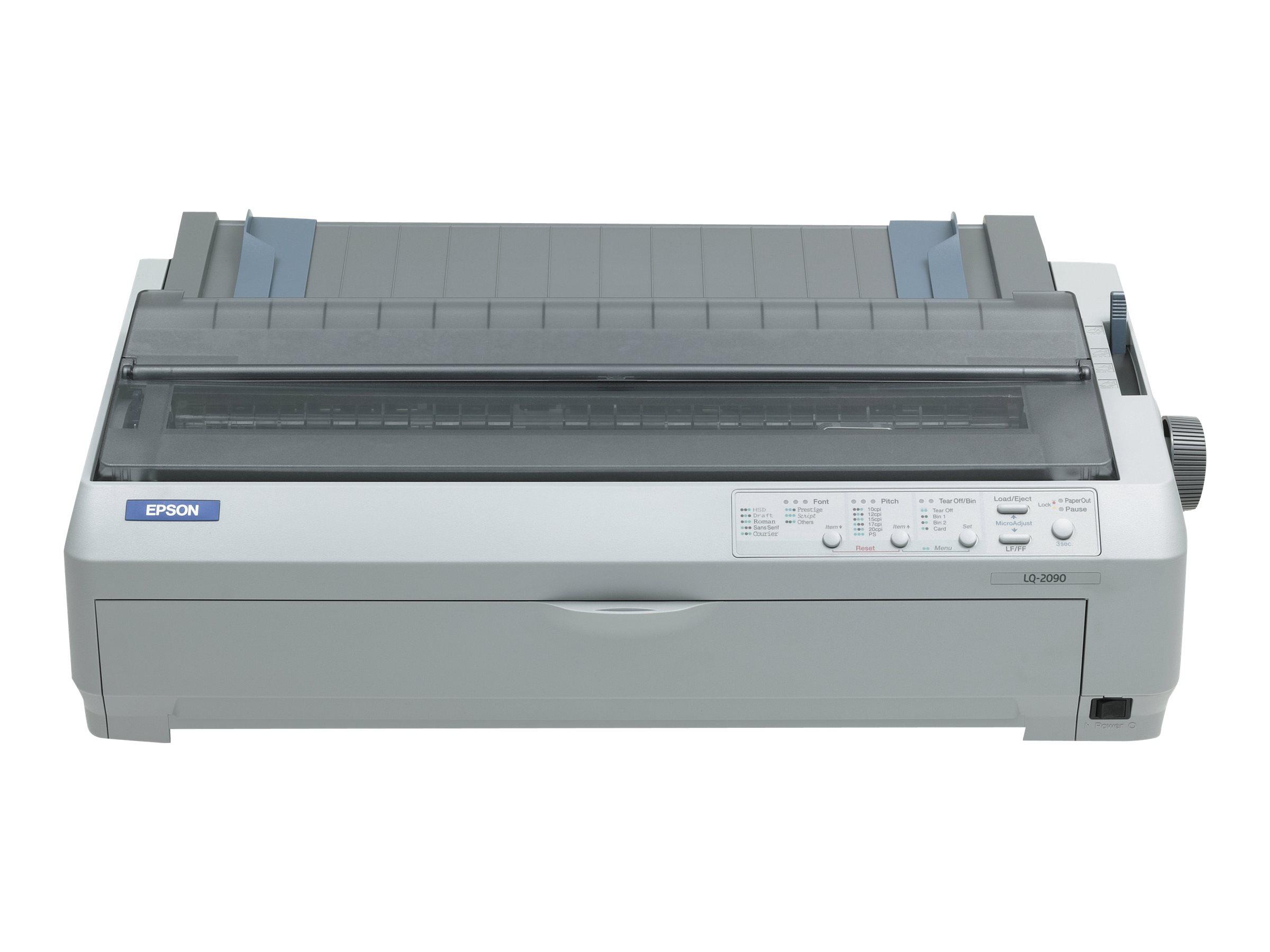 Epson LQ 2090 - Drucker - monochrom - Punktmatrix - 420 x 420 mm, 406 mm (Breite) - 360 x 180 dpi