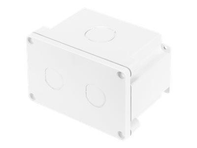 DIGITUS Professional DN-IND-BOX - Installationskasten Netzwerkoberfläche - Innenbereich, Aussenbereich - weiss