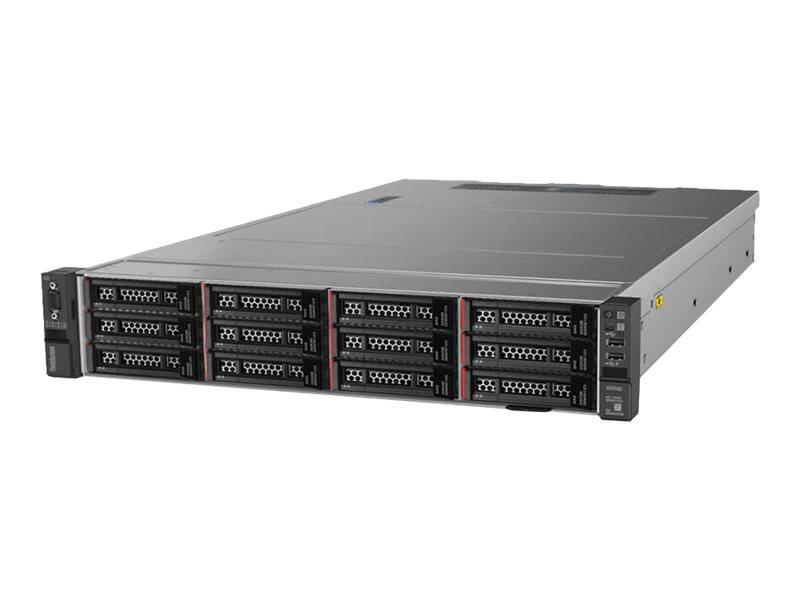 Lenovo ThinkSystem SR590 7X99 - Server - Rack-Montage - 2U - zweiweg - 1 x Xeon Silver 4110 / 2.1 GHz