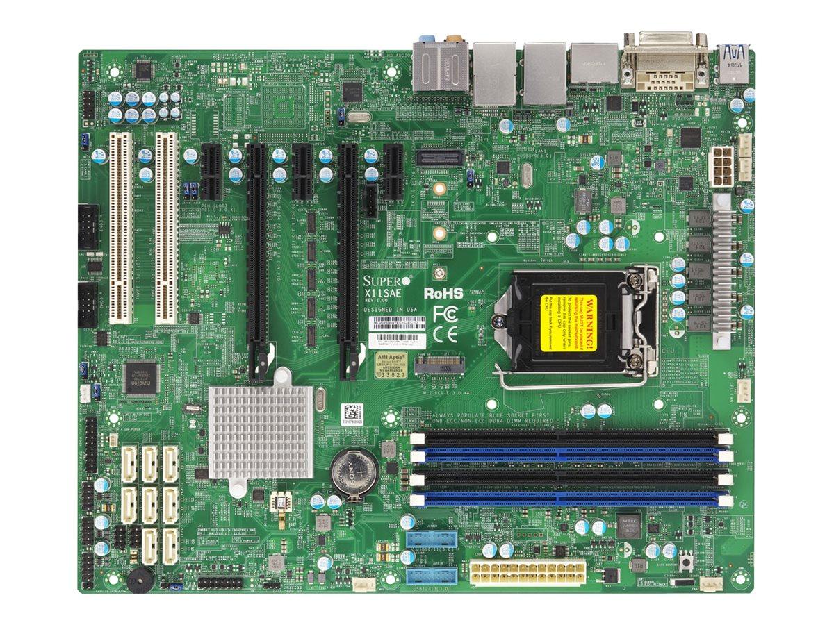 SUPERMICRO X11SAE - Motherboard - ATX - LGA1151 Socket - C236 - USB 3.0, USB 3.1