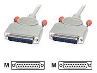 Lindy - Serielles RS-232-Kabel - DB-25 (M) bis DB-25 (M) - 2 m - geformt