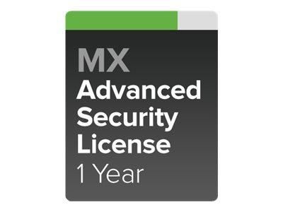 Cisco Meraki Advanced Security - Abonnement-Lizenz (1 Jahr) + 1 Year Support - 1 Gerät