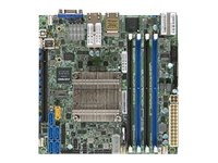 SUPERMICRO X10SDV-8C-TLN4F - Motherboard - Mini-ITX - Intel Xeon D-1540 - USB 3.0 - 2 x 10 Gigabit LAN, 2 x Gigabit LAN