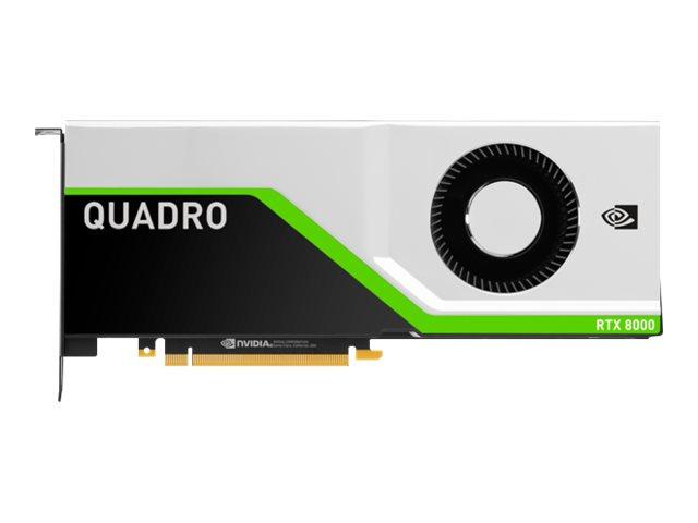 NVIDIA Quadro RTX 8000 - Grafikkarten - Quadro RTX 8000 - 48 GB GDDR6 - PCIe 3.0 x16 - für ProLiant DL380 Gen10