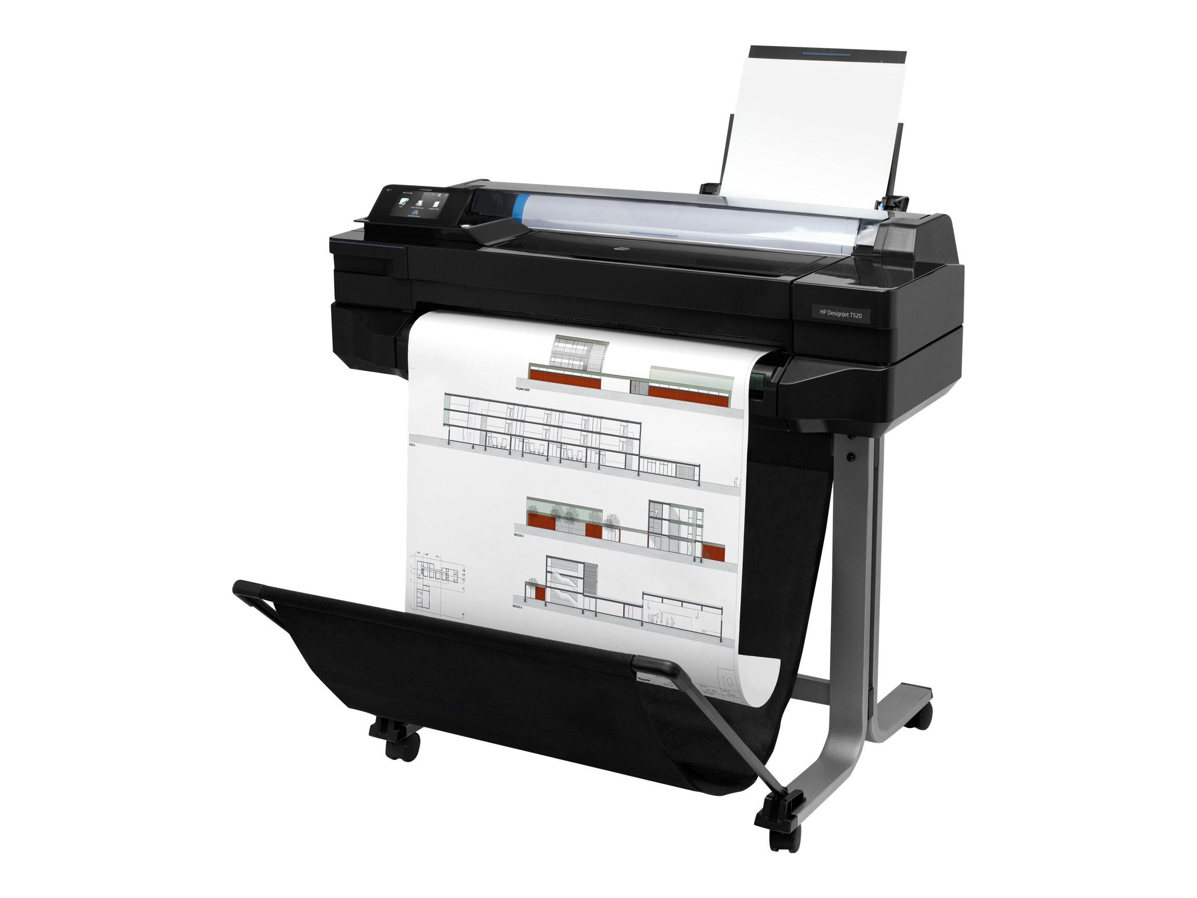 HP DesignJet T520 - 610 mm (24