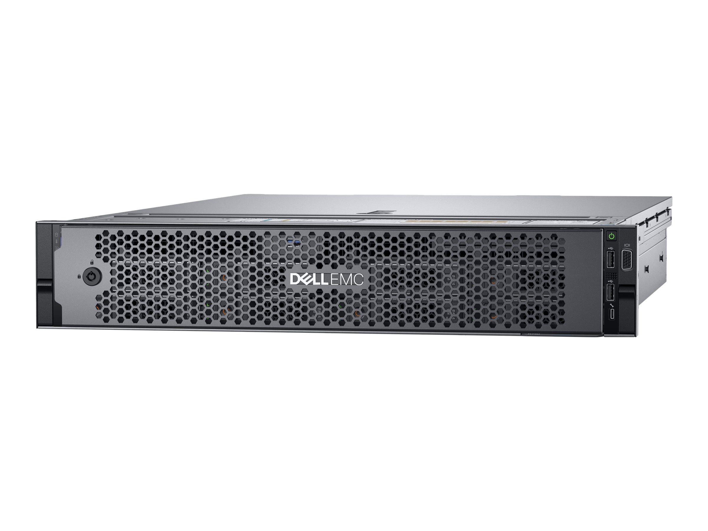 Dell EMC PowerEdge R740 - Server - Rack-Montage - 2U - zweiweg - 1 x Xeon Silver 4212 / 2.2 GHz