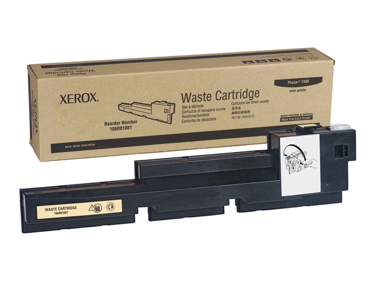 Xerox Phaser 7400 - Tonersammler - für Phaser 7400, 7400DN, 7400DNM, 7400DNZ, 7400DT, 7400DX, 7400DXF, 7400N