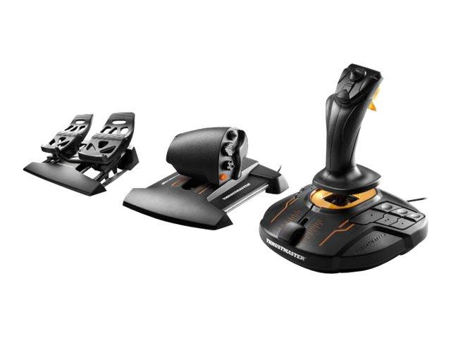 ThrustMaster T.16000M FCS Flight Pack - Joystick, Gashebel und Pedale - kabelgebunden - für PC