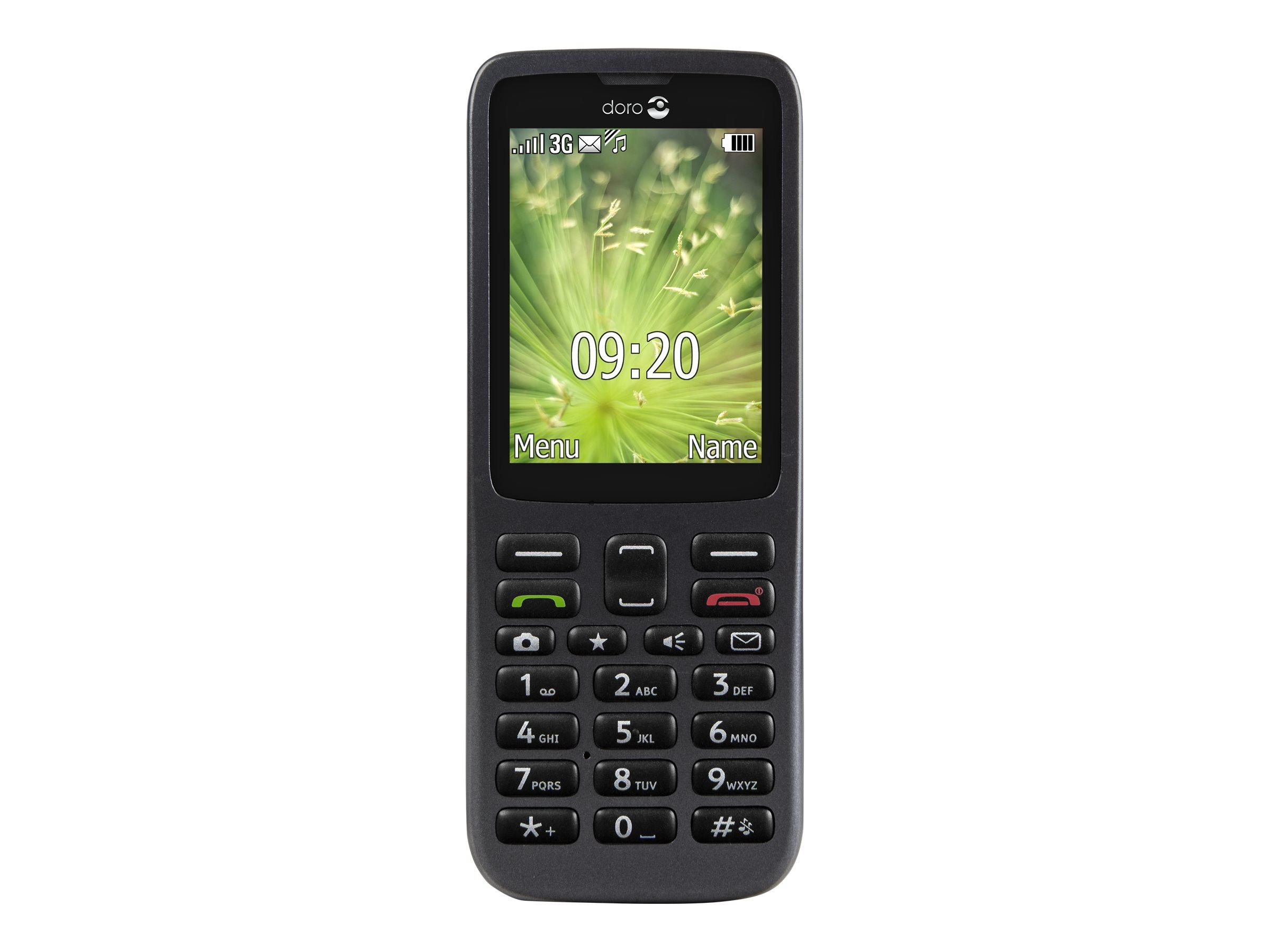 Doro 5516 - Mobiltelefon - 3G - microSDHC slot - GSM - 320 x 240 Pixel