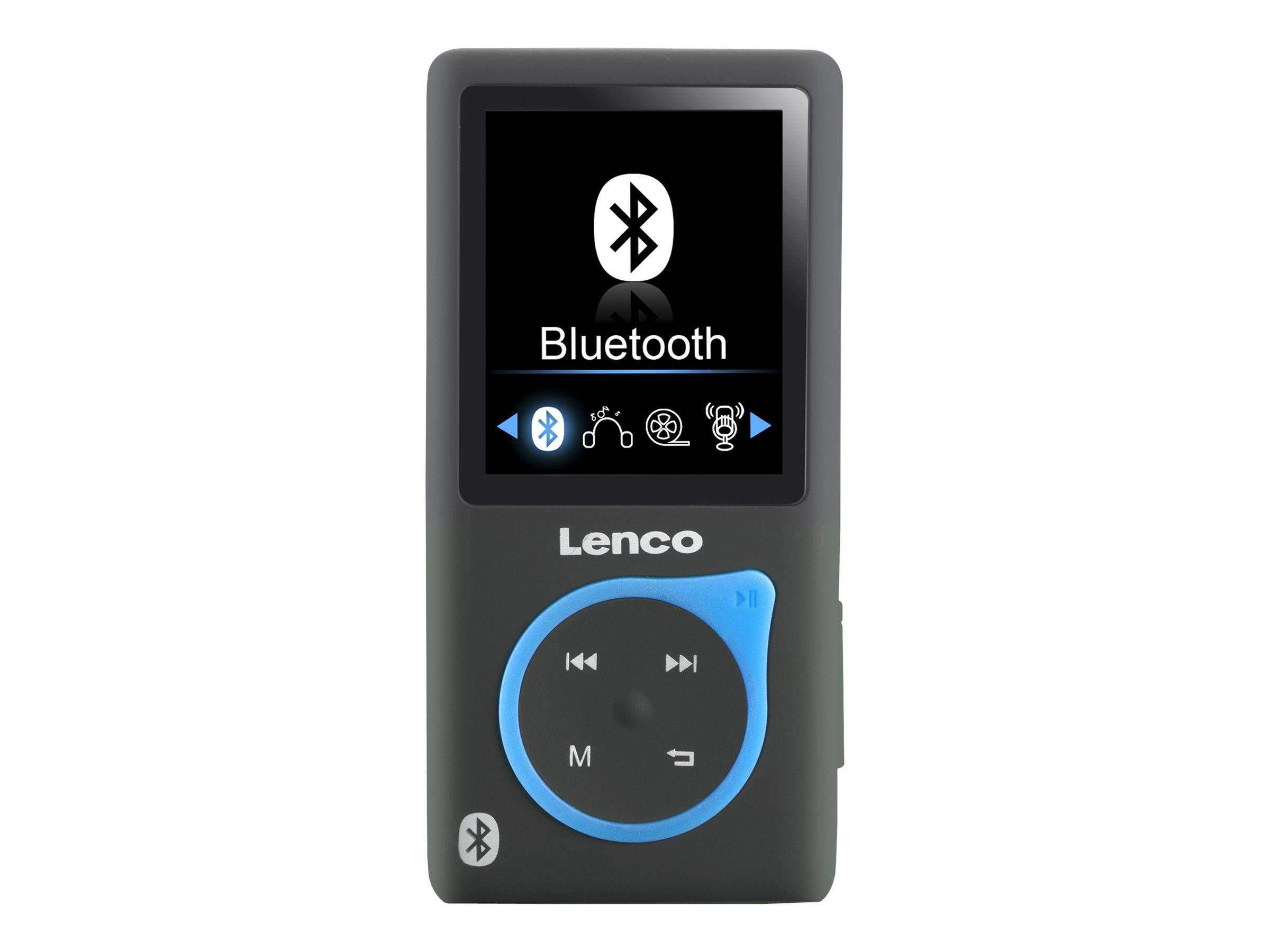 Lenco Xemio-767 BT - Digital Player - 8 GB - Blau
