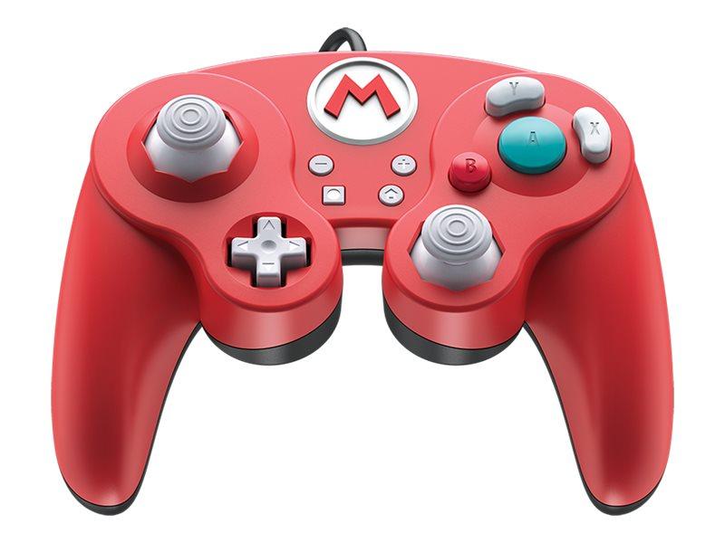 PDP Wired Smash Pad Pro - Super Mario Edition - Game Pad - kabelgebunden - für Nintendo Switch