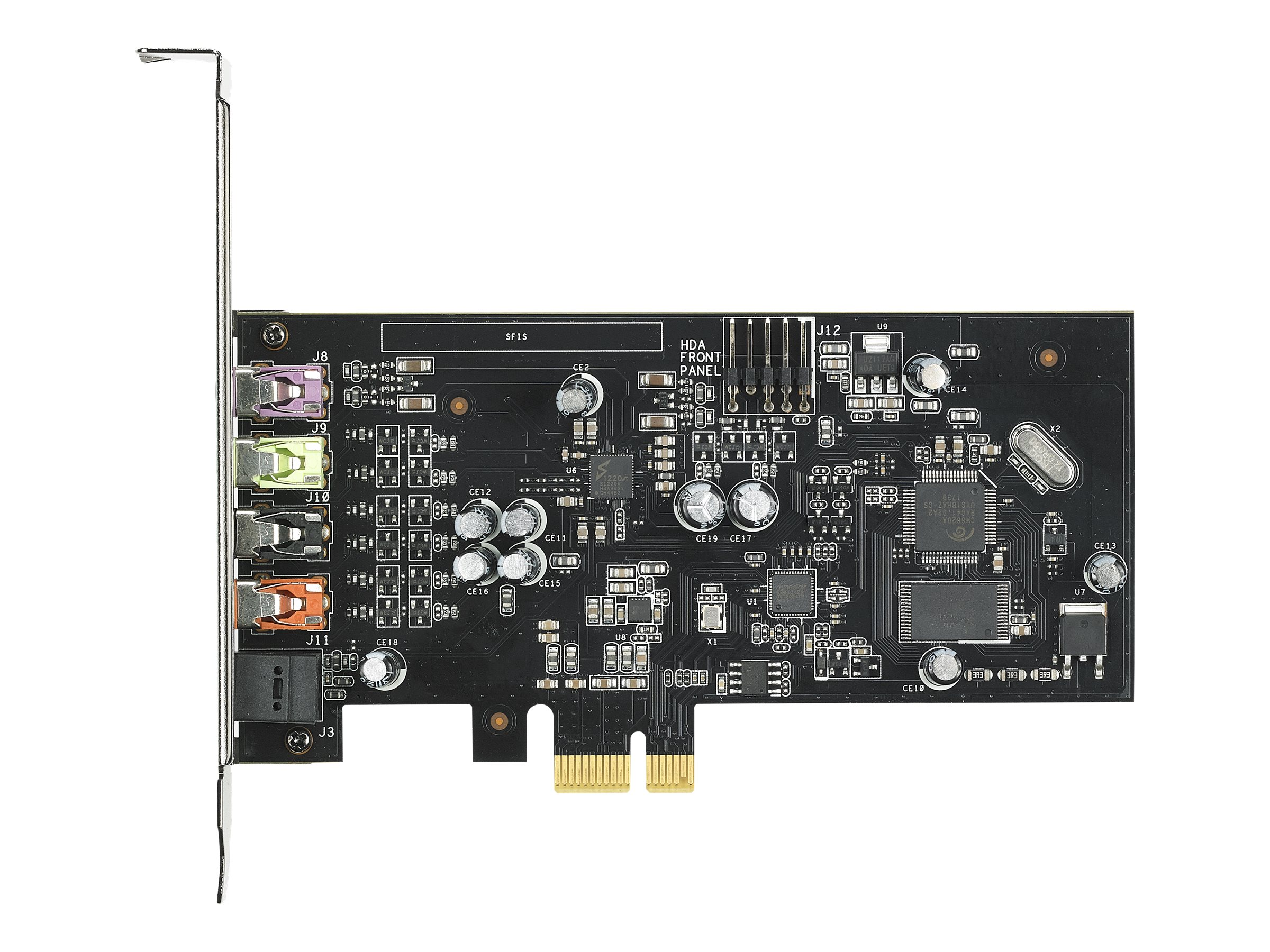 ASUS XONAR SE - Soundkarte - 24-Bit - 192 kHz - 116 dB S/N - 5.1