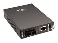 D-Link DMC 300SC - Medienkonverter - 100Mb LAN - 10Base-T, 100Base-FX, 100Base-TX - RJ-45 / SC multi-mode - bis zu 2 km