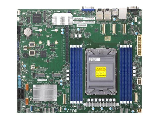 SUPERMICRO X12SPO-NTF - Motherboard - ATX - LGA4189-Sockel - C621A Chipsatz - USB 3.2 Gen 1