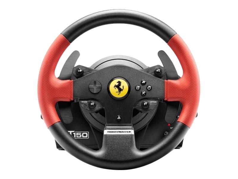 ThrustMaster T150 - Ferrari Edition - Lenkrad- und Pedale-Set - kabelgebunden - für PC, Sony PlayStation 3, Sony PlayStation 4