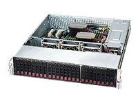 Supermicro SC216 BAC-R920LPB - Rack - einbaufähig - 2U - verbessertes, erweitertes ATX - SATA/SAS