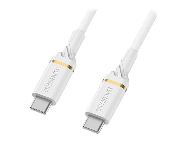 OtterBox Standard - USB-Kabel - USB-C (M) bis USB-C (M) - USB 2.0 - 3 A - 1 m