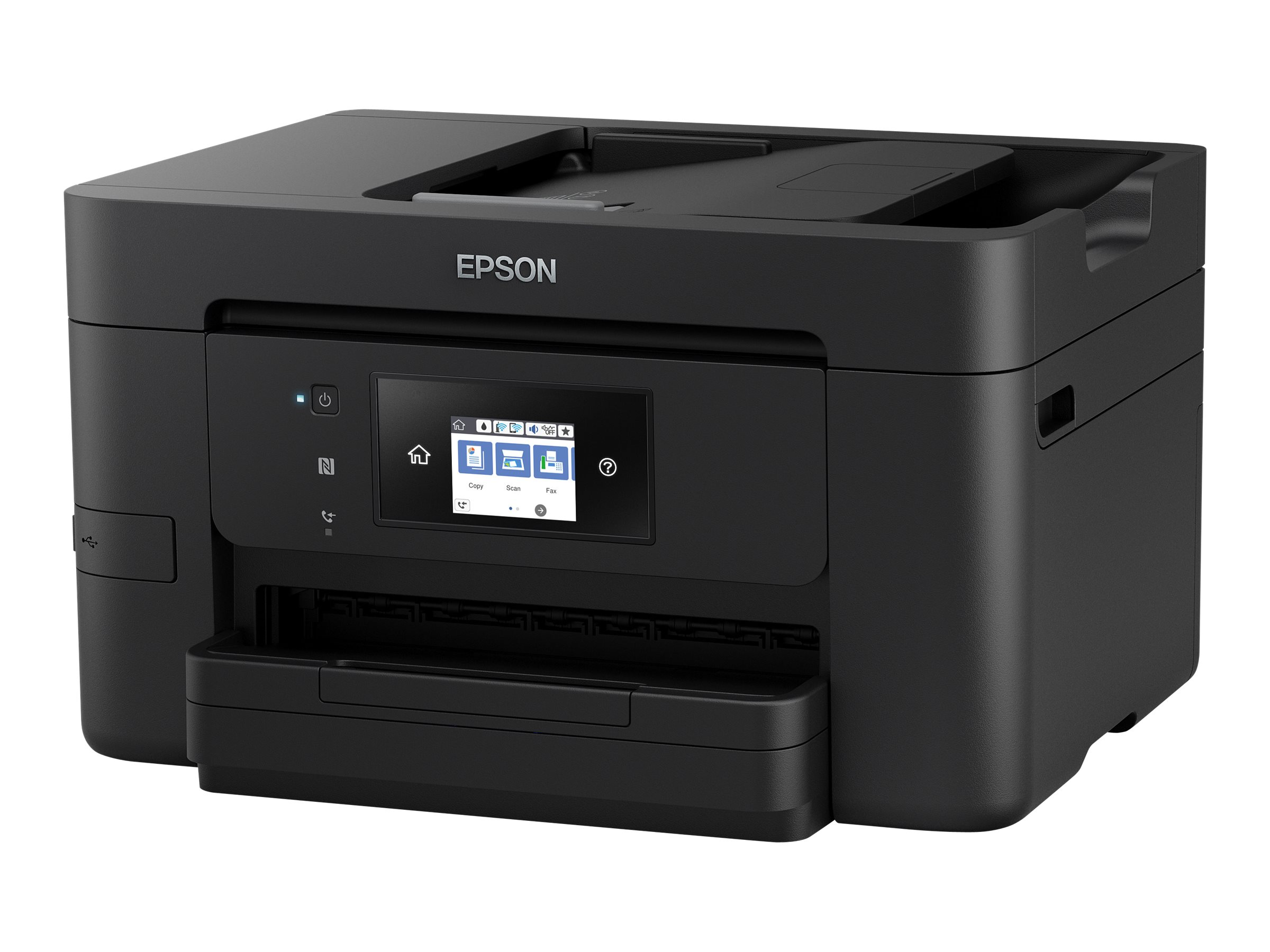Epson WorkForce Pro WF-4725DWF - Multifunktionsdrucker - Farbe - Tintenstrahl - A4 (210 x 297 mm) (Original) - A4/Legal (Medien)