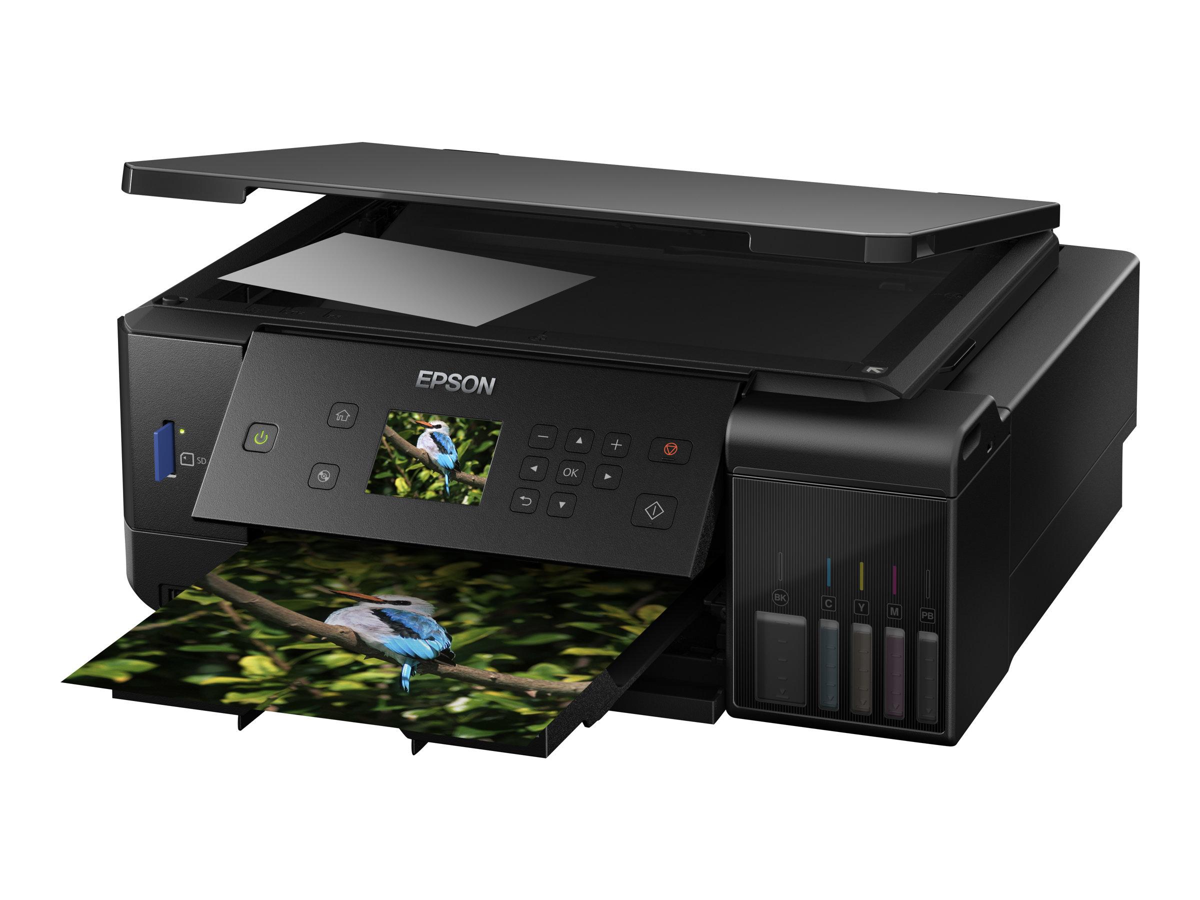 Epson EcoTank ET-7700 - Multifunktionsdrucker - Farbe - Tintenstrahl - A4 (210 x 297 mm) (Original) - A4/Legal (Medien)