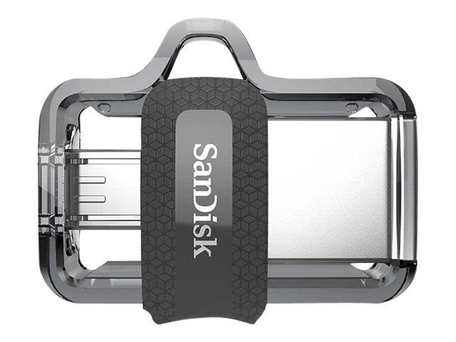 SanDisk Ultra Dual - USB-Flash-Laufwerk - 32 GB - USB 3.0 / micro USB