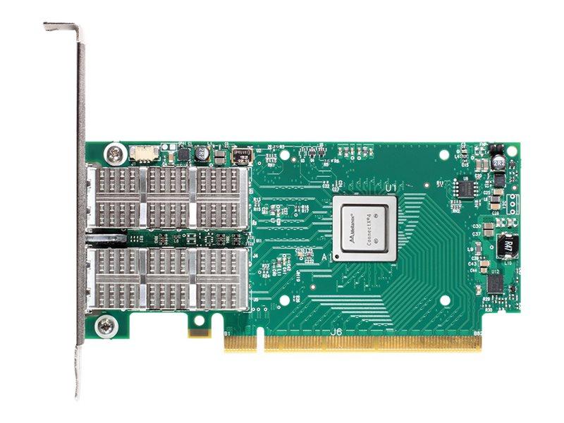 Mellanox ConnectX-4 VPI MCX455A-ECAT - Netzwerkadapter - PCIe 3.0 x16 - InfiniBand, 100 Gigabit Ethernet