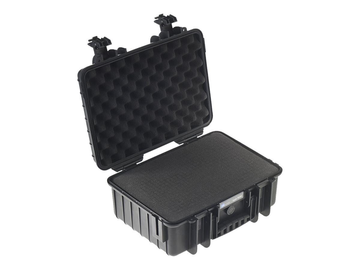 B&W outdoor.cases Type 4000 - Hartschalentasche - Polypropylen - Schwarz