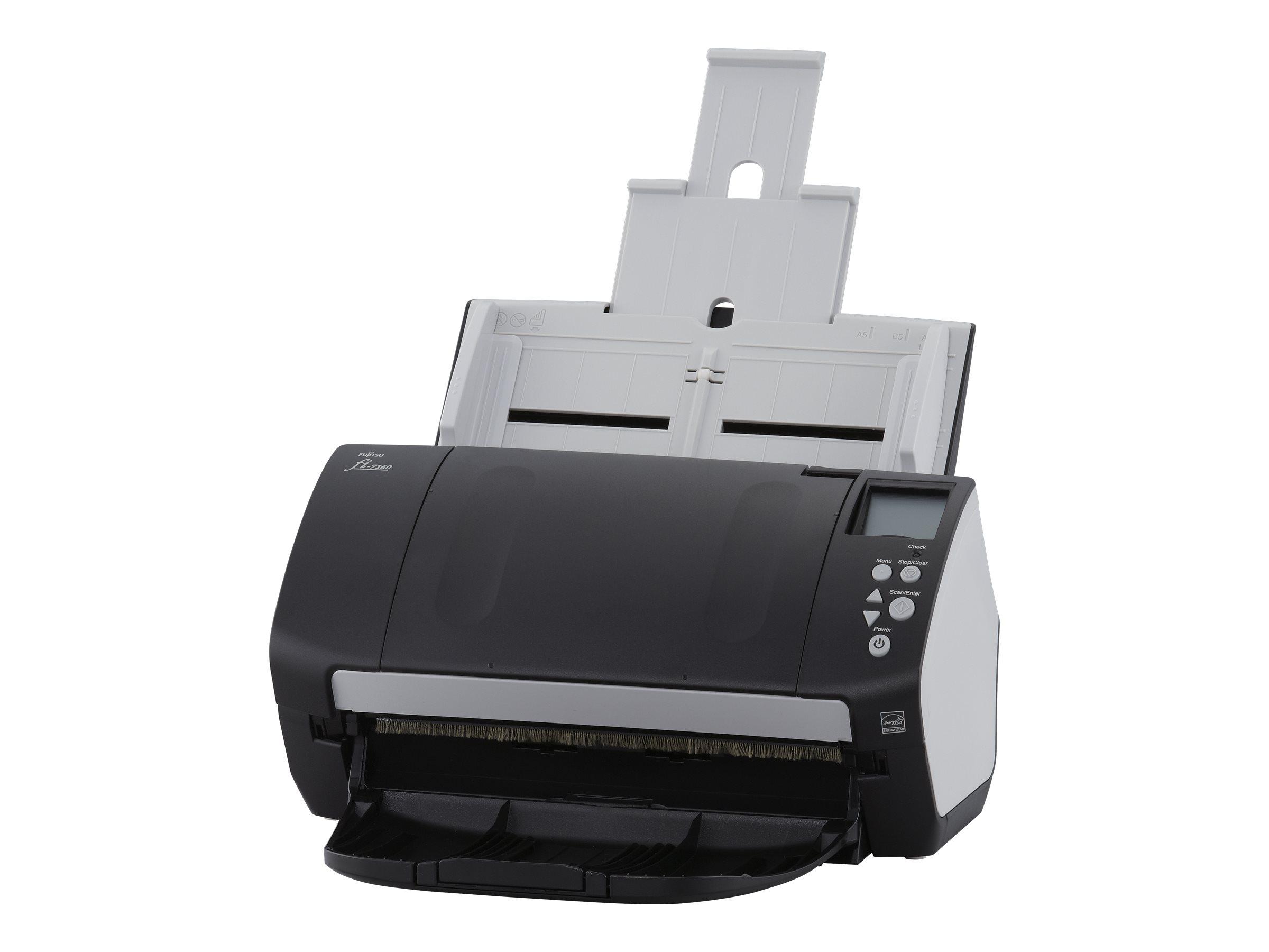 Fujitsu fi-7160 - Dokumentenscanner - Duplex - 216 x 355.6 mm - 600 dpi x 600 dpi - bis zu 60 Seiten/Min. (einfarbig) / bis zu 6