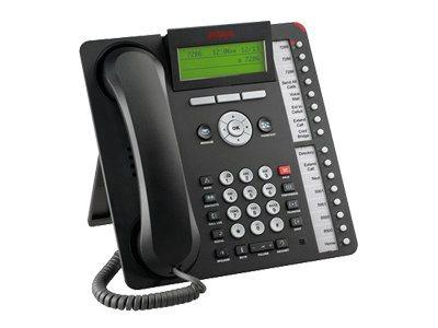 Avaya one-X Deskphone Value Edition 1616-I - VoIP-Telefon - H.323 - Schwarz