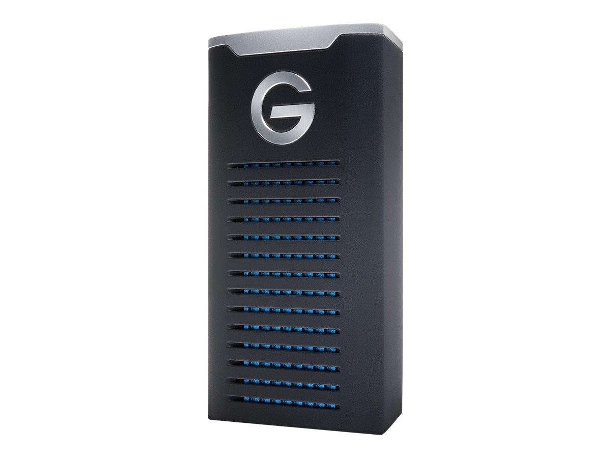 G-Technology G-DRIVE Mobile SSD R-Series GDRRUCWWA20001SDB - Solid-State-Disk - 2 TB - extern (tragbar) - USB 3.1 Gen 2 (USB-C S