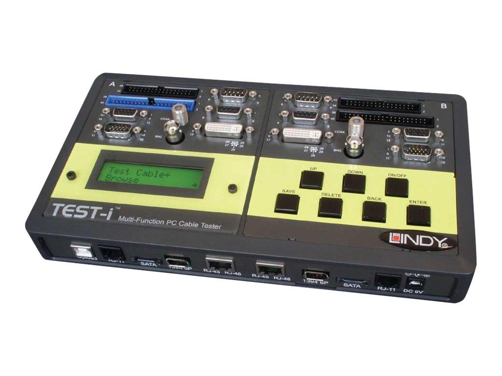 Lindy Multi Function Cable Tester - Netzwerktester