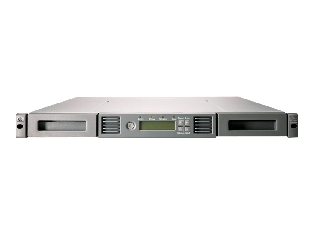HPE StorageWorks 1/8 G2 Tape Autoloader Ultrium 920 - Tape Autoloader - 3.2 TB / 6.4 TB - Steckplätze: 8 - LTO Ultrium (400 GB /