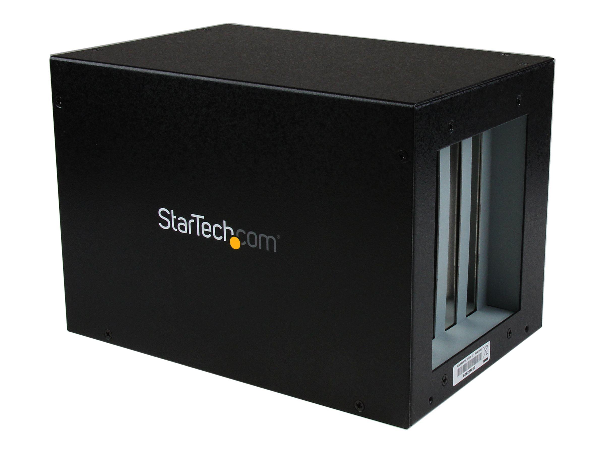 StarTech.com PCI Express Expansion Box Erweiterungsgehäuse 4x PCI Slot Erweiterungsbox - 1 x PCI Express (Stecker) 4 x PCI Slot
