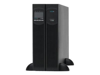 Online USV XANTO 6000 - USV (in Rack montierbar/extern) - Wechselstrom 230 V - 6000 Watt - 6000 VA 7 Ah - RS-232, USB