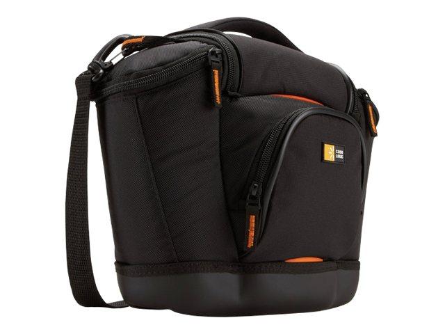Case Logic Medium SLR Camera Bag - Schultertasche für Kamera und Objektive - Nylon, Ethylen-Vinylacetat (EVA) - Schwarz - für Ni