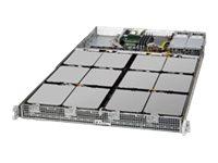 Supermicro SuperStorage Server 5018A-AR12L - Server - Rack-Montage - 1U - 1-Weg - 1 x Atom C2750 / 2.4 GHz