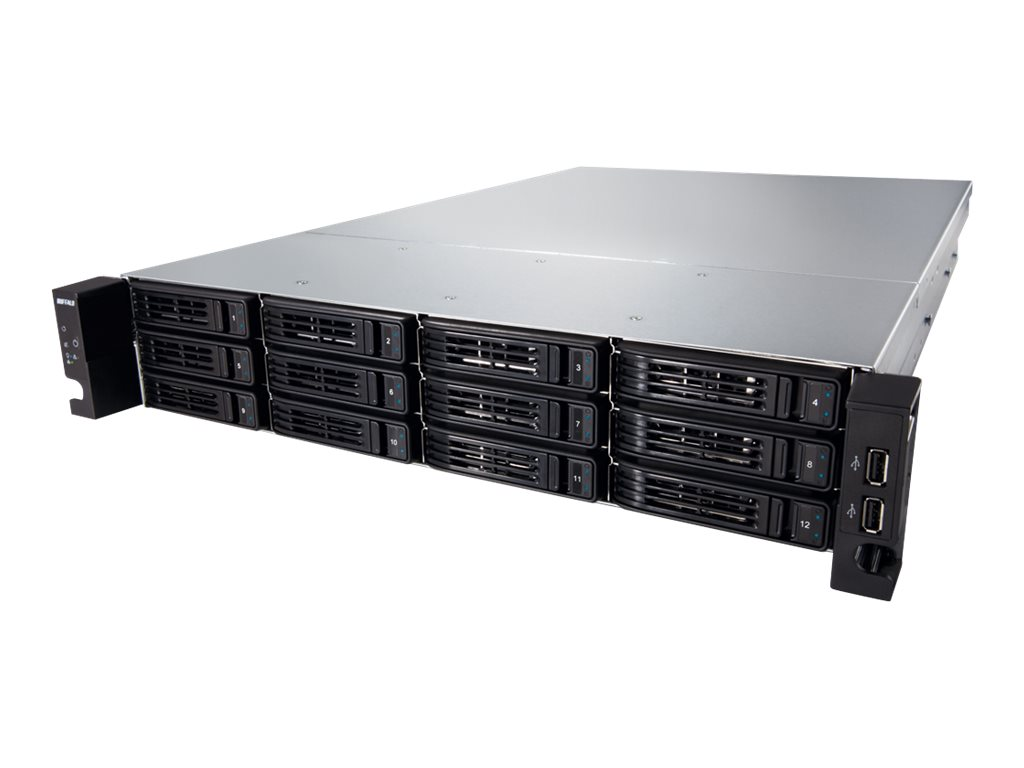 BUFFALO TeraStation 7120r Enterprise - NAS-Server - 12 Schächte - 96 TB - Rack - einbaufähig