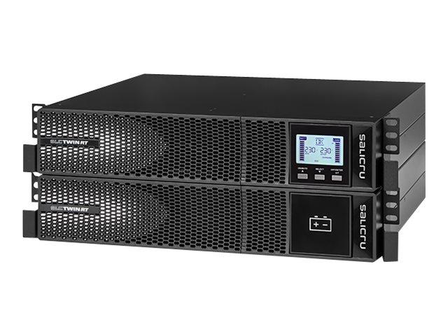 SALICRU SLC TWIN RT2 KIT SLC 6000 - USV (in Rack montierbar/extern) - Wechselstrom 208/220/230/240 V - 6000 Watt - 6000 VA 7 Ah