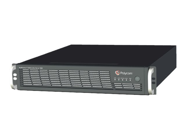 Polycom RealPresence Collaboration Server 1830 IP only 50x1080p30/100x720p/200xSD for RealPresence Clariti - Videokonferenzkompo
