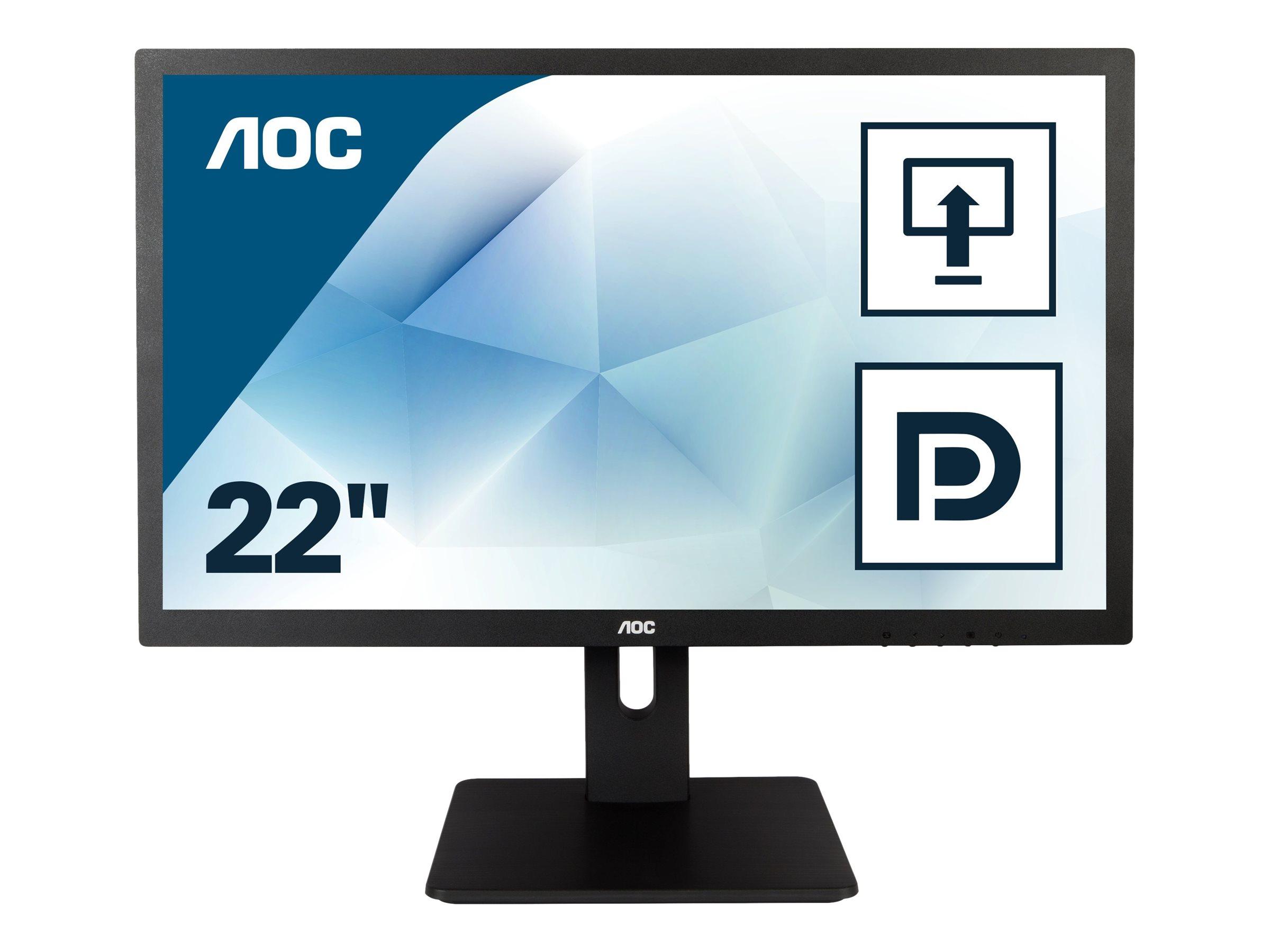 AOC Pro-line E2275PWQU - LCD-Monitor - 54.6 cm (21.5
