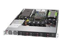 Supermicro SuperServer 1019GP-TT - Server - Rack-Montage - 1U - 1-Weg - RAM 0 GB