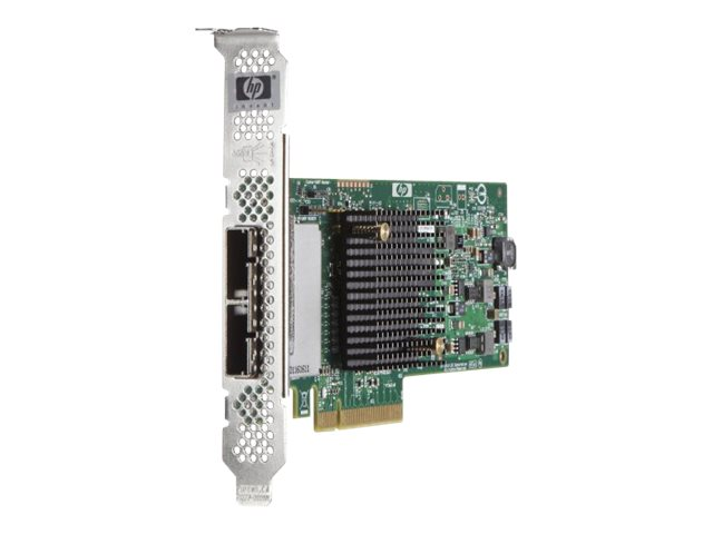 HPE H221 Host Bus Adapter - Speicher-Controller - 8 Sender/Kanal - SATA 3Gb/s / SAS 6Gb/s Low-Profile - 6 Gbit/s - PCIe 2.0 x8