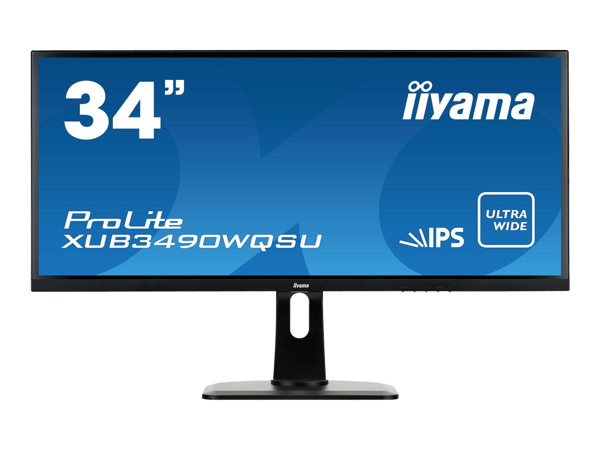 iiyama ProLite XUB3490WQSU-B1 - LED-Monitor - 86.7 cm (34
