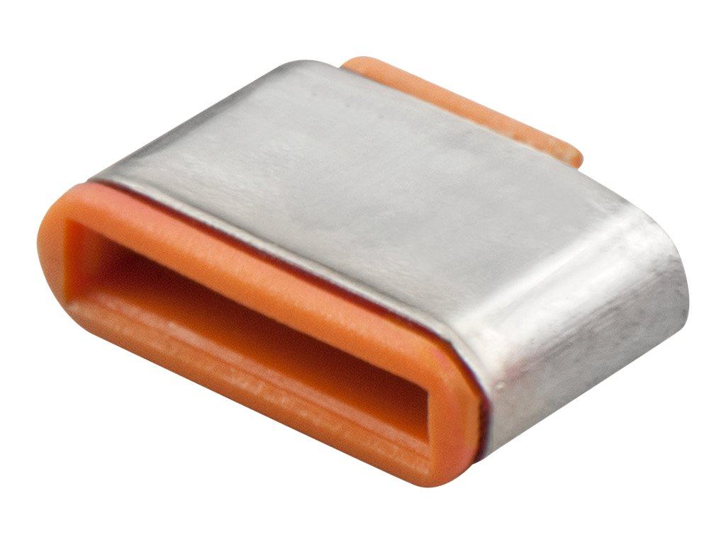 Lindy - Schloss für USB-C-Port - orange (Packung mit 10)