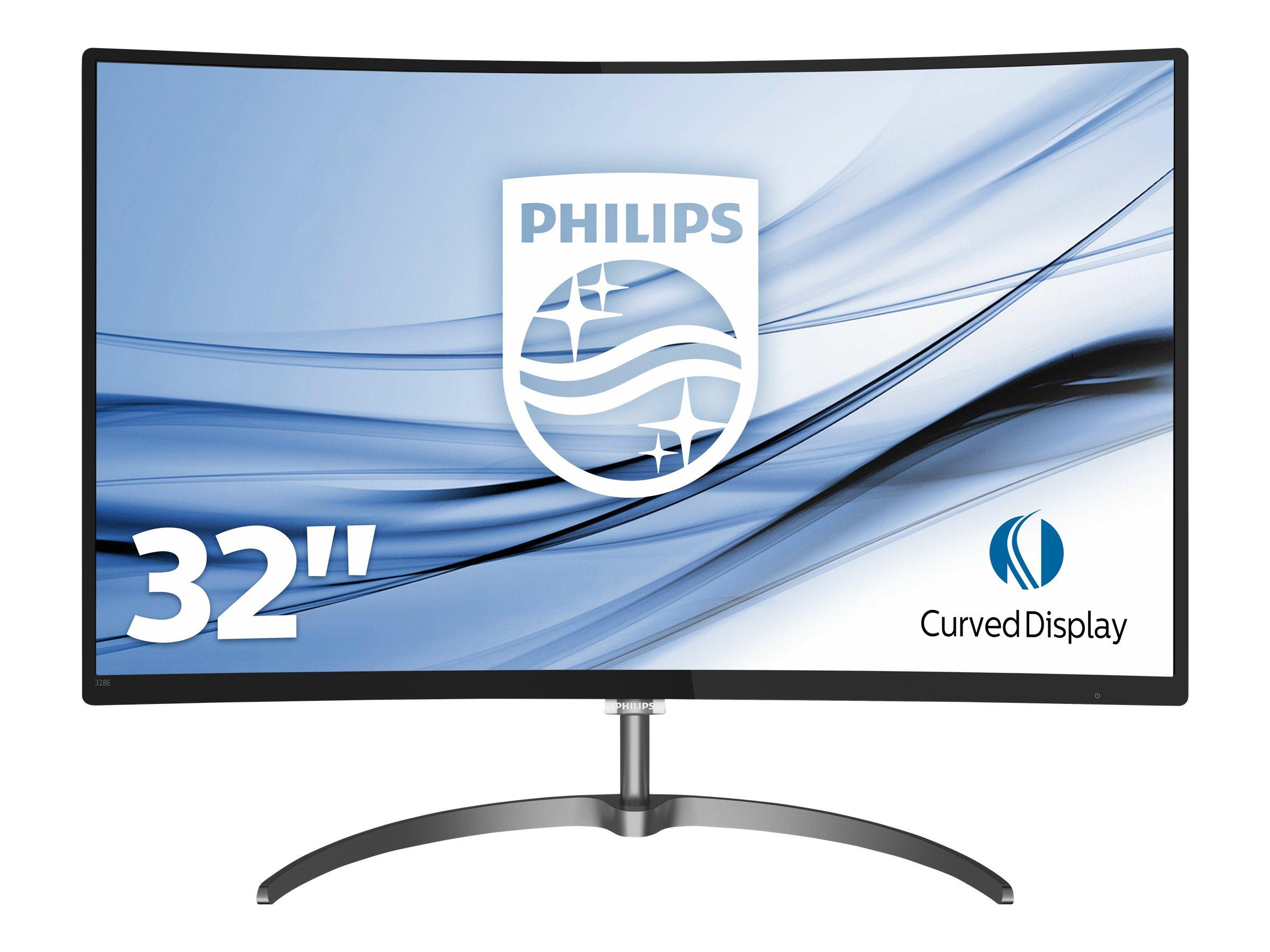 Philips E-line 328E8QJAB5 - LED-Monitor - gebogen - 81.3 cm (32