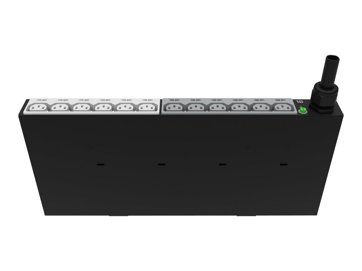 HPE G2 Basic Vertical Mid-Height - Stromverteilungseinheit (Rack - einbaufähig) - Wechselstrom 200-208 V - 9200 VA - 1-phasig